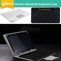 Беспроводная Bluetooth Клавиатура кожаный чехол для Samsung GALAXY S2 9.7 дюймов T810 T815 N9106 T530 T531 T560 T561 бесплатная подарок