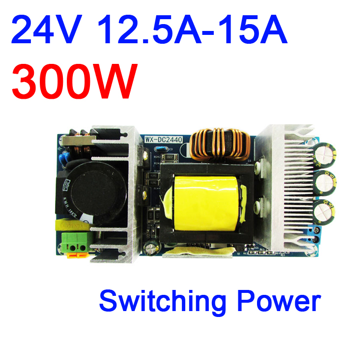 300W AC-DC Converter 170v-260v 220V-240V <font><b>230V</b></font> to 24V 12.5A-15A Isolated Switching Industrial Power Supply Module image