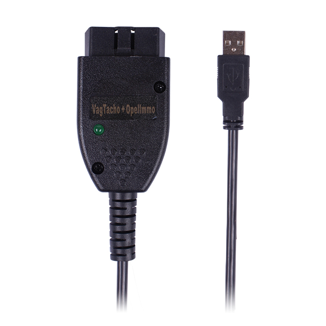Newest VAG TACHO 3.01+ Adapter for Opel Immo Reader Interface Auto Diagnostic Scanner Cable Change Mileage Read Pin Code