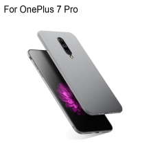 Case For OnePlus 7 Pro Slim Frosted Scrub Sandstone Soft Matte TPU Cases For One Plus 7 Pro Fundas OnePlus7 Pro Shell