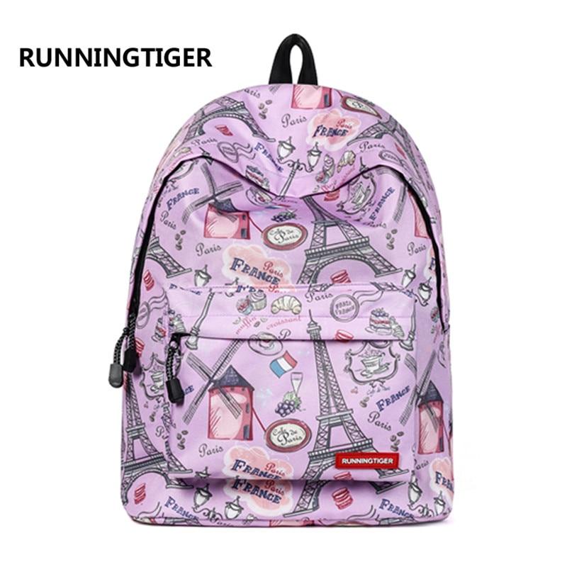 2018 Women Laptop Backpack Girls Teenager Schoolbag Travel Shopping Bag Casual Beach Bag Weekend Bag Daypack Bookbag Mochila