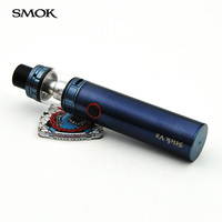 100 Original SMOK Stick V8 Starter Kit Built In 3000mAh Batery With 5ml Tfv8 Big Baby