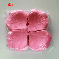 Petali di rosa 2000 pz/lotto Romantico Decorazione Della Festa Nuziale Fiori Artificiali Petali di Fiori 40 Colori di Seta Petali Di Rosa