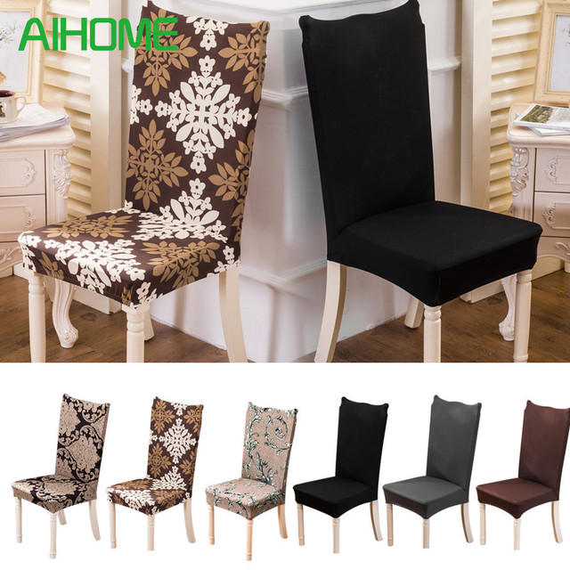 Removable Chair Cover Stretch Elastic Slipcovers Modern Minimalist Covers Home Style Banquet Dining Seat