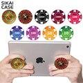 Sikai nueva reutilizable expansión soporte para teléfono soporte de montaje de agarre para teléfonos inteligentes y tabletas para iphone poker casino patrones titular del pop