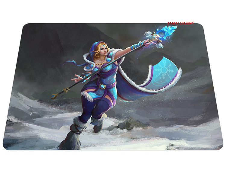 dota2 mousepad Crystal Maiden gaming mouse pad big Gift gamer mouse mat pad game computer desk padmouse keyboard large play mats