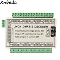 24CH DMX512 RGB Led Controller Led Decoder Für RGB Led Streifen Licht Modul DC12 24V-in RGB-Controller aus Licht & Beleuchtung bei
