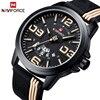 Mens Watches Top Luxury Brand NAVIFORCE Men Military Sport Wristwatch Fashion Silicone Strap Quartz Watch Relogio