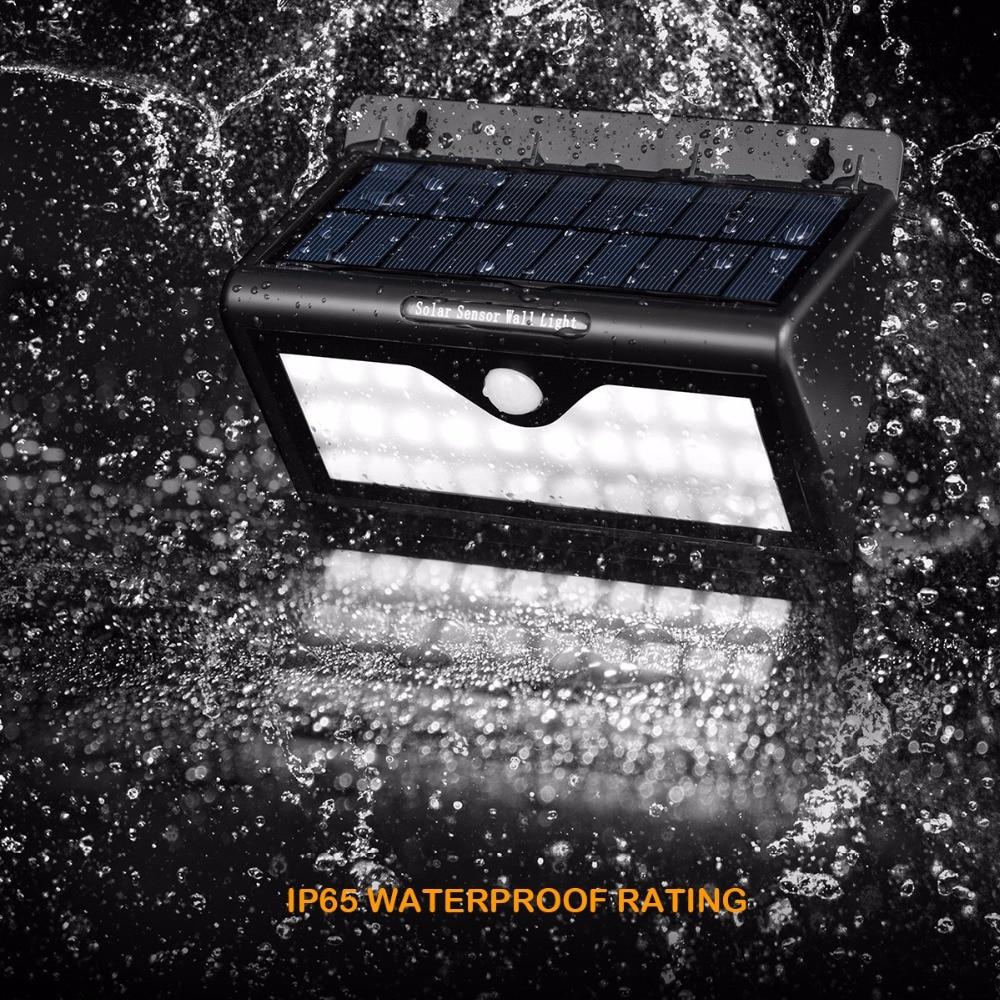 46 LED Solar Lights Outdoor Motion Sensor Light Waterproof Solar Powered Garden Light Back Yard
