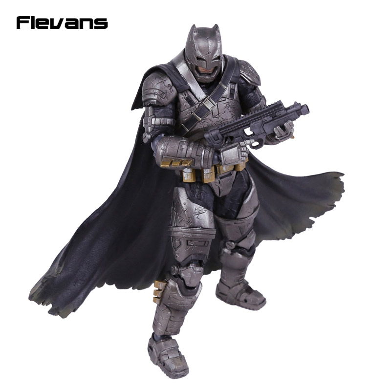 Play Arts KAI Batman v Superman Dawn of Justice NO.3 Armored Batman PVC Action Figure Collectible Model Toy xinduplan dc comics play arts kai justice league batman reloading dawn justice action figure toys 25cm collection model 0637