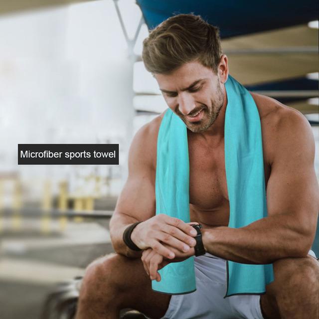 Yoga Towel Sweat Anti-skid Portable Gym Fitness Blanket Sports