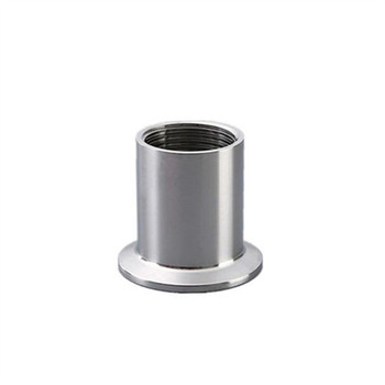 3/4 DN20 Sanitary Female Threaded Pipe Fittings with Ferrule Stainless Steel SS304 Tri Clamp Type 1 4 tee 3 way f f f threaded pipe fittings stainless steel ss304 female x female x female 3 ways tee 39mm length