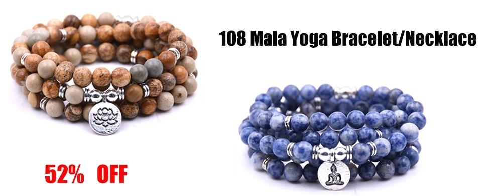 108 mala yoga bracele-