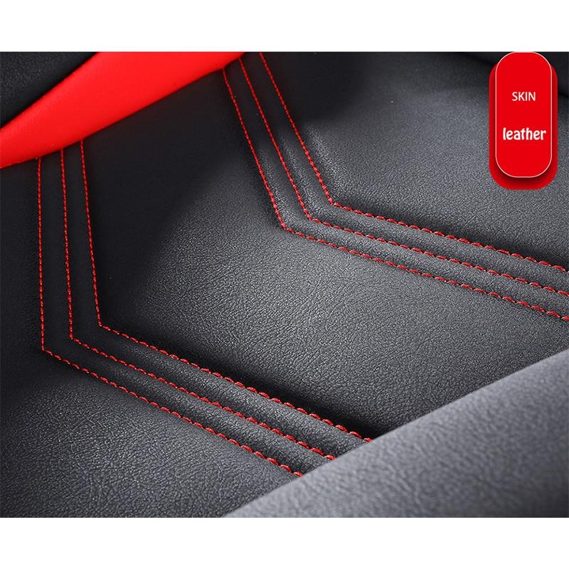 KADULEE housse de siège de voiture En Cuir pour mazda 3 bk bl Axela 323 6 gg gh gj cx-5 cx-7 626 cx3 cx-4 Automobiles Siège Couvre - 3