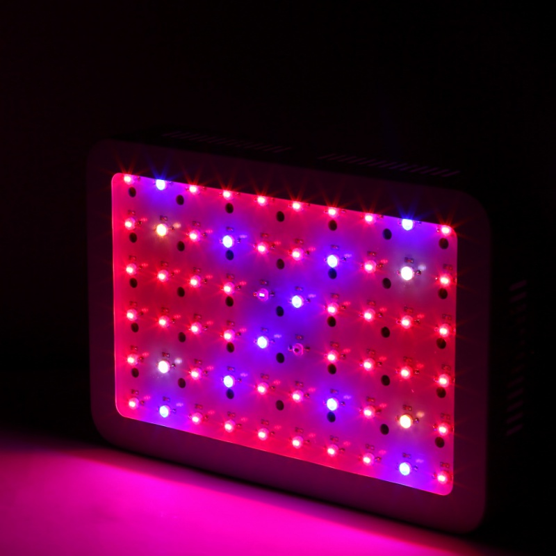 US Shipping 600W 100LED Grow Light Full Spectrum LEDs Plant Lighting Lamp Flowers Growing Greenhouses light 600w led grow light full spectrum leds plant lighting lamp for plants seedings flowers growing greenhouses 100 6w double chips