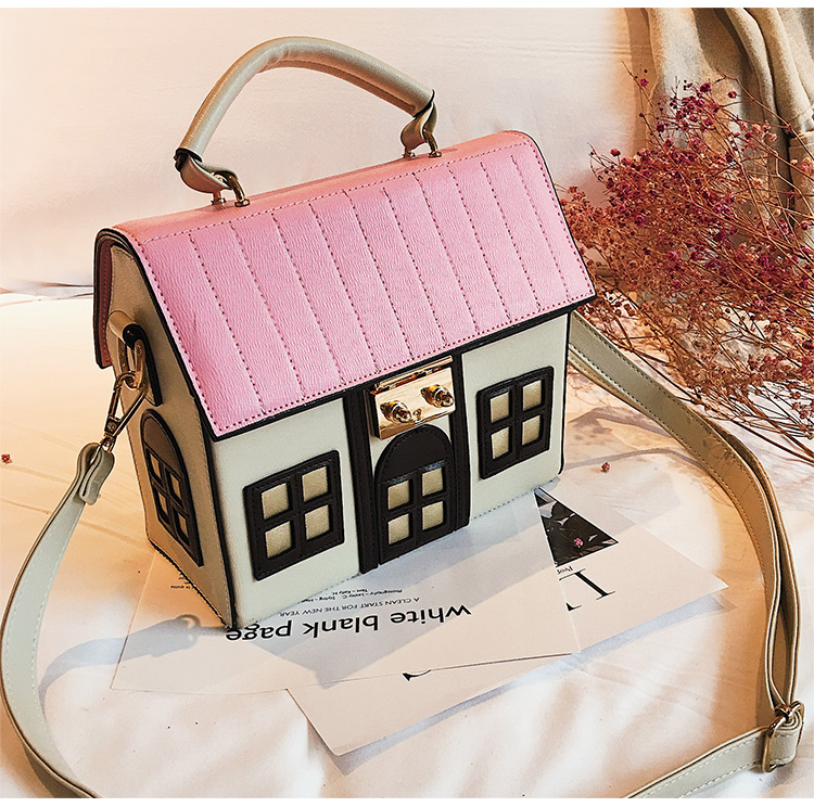 Bolsa Divertida em Forma de Casa