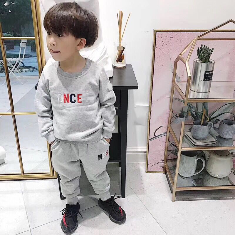 traditional chinese clothing for kid autumn winter suit coat with pants 2 pcs tang suit for girls boys red black colors 1 6t Children Clothing 2 pcs sets Coat+pants Fashion letter baby Boy Kid Autumn Winter Suit Fall Cotton sport tracksuit outdoor