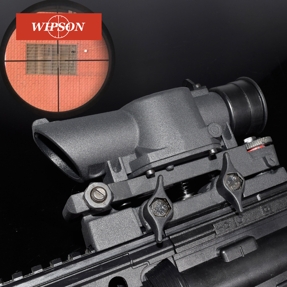 WIPSON L85 SUSAT Iron 4x32 Optical Sight Rifle Shotgun Scope Quick Detach for Airsoft Weaver Mount WP3038WIPSON L85 SUSAT Iron 4x32 Optical Sight Rifle Shotgun Scope Quick Detach for Airsoft Weaver Mount WP3038