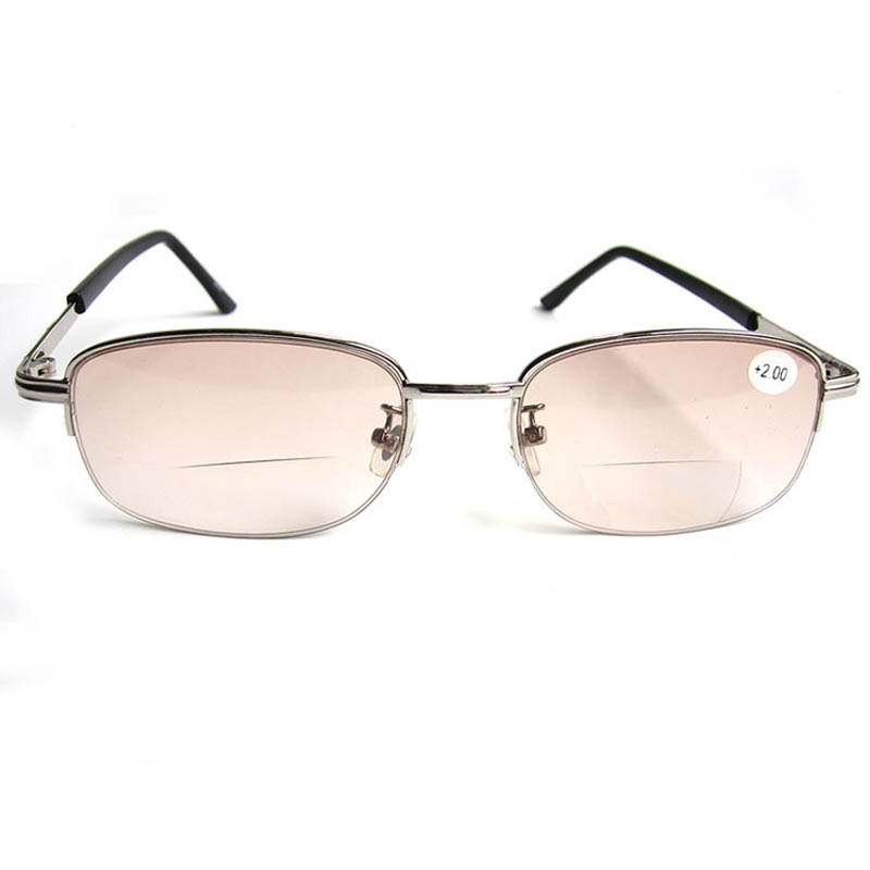 Half Frame Glasses Brown : Aliexpress.com : Buy 11.11 Half Frame Bifocal Reading ...