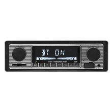 NEW 12V Car Radio Player Bluetooth Stereo FM MP3 USB SD AUX Audio Auto Electronics autoradio 1 DIN oto teypleri radio para carro bluetooth vintage car radio mp3 player stereo usb aux classic car stereo audio auto audio accessories radio mp3 player audio