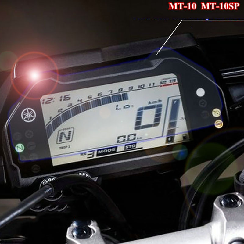 US $3 99 20% OFF|for Yamaha MT 10 FZ10 SP MT10 FZ 10 Instrument Cluster  Scratch Protection Film Screen Protector-in Covers & Ornamental Mouldings  from