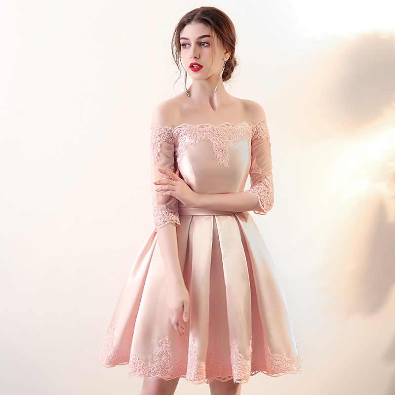 Ladybeauty 2018 לבן קצר כלה שמלות הכלה סקסי תחרה חתונה שמלת כלה שמלה בתוספת גודל שנהב vestido דה noiva curto