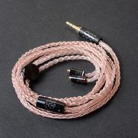 DIY Hand Made 3.5mm Plug Headphones Cords MMCX Connector Aftermarket Replacement Hifi Music Cables for SE535/Ultrazone IQ/W60