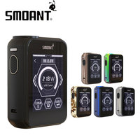 100 Original 218W Smoant Charon TS Touch Screen TC Box MOD No 18650 Battery 2 4