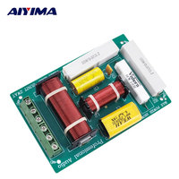 AIYIMA 200W Crossover HIFI High Quality 2way Speaker Frequency Board Divider Crossover DIY 1/2 Dividers Home Car Audio System