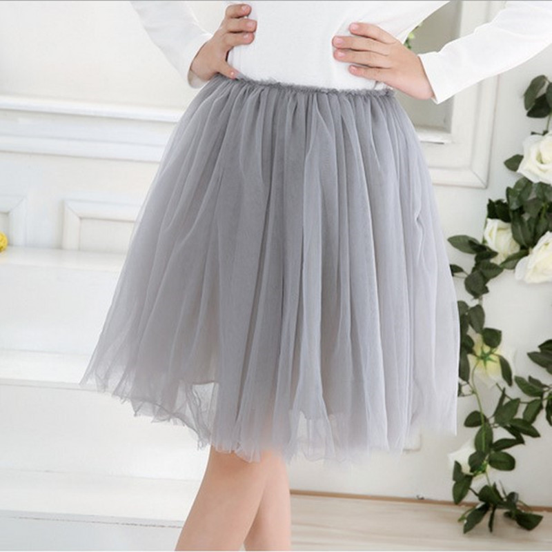 Girls skirts Children Pleated tutu skirt Girl multilayer grenadine ra-ra skirt sweet princess design elastic waistband Ball gown