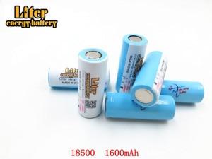 Image 5 - 2pcs/lot 18500 Batteries 18490 Real 1600mAh Li ion Lithium 3.7V Rechargeable FlashLight Torch Battery Power Bank LED Energy