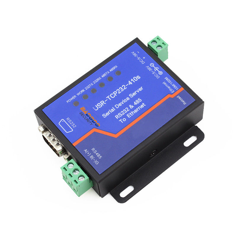 USR-TCP232-410S Serial RS232 RS485 To Ethernet Converter Modbus TCP/Httpd Client