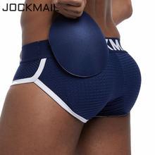 Jockmail сексуальное мужское нижнее белье мужские трусы с подкладкой