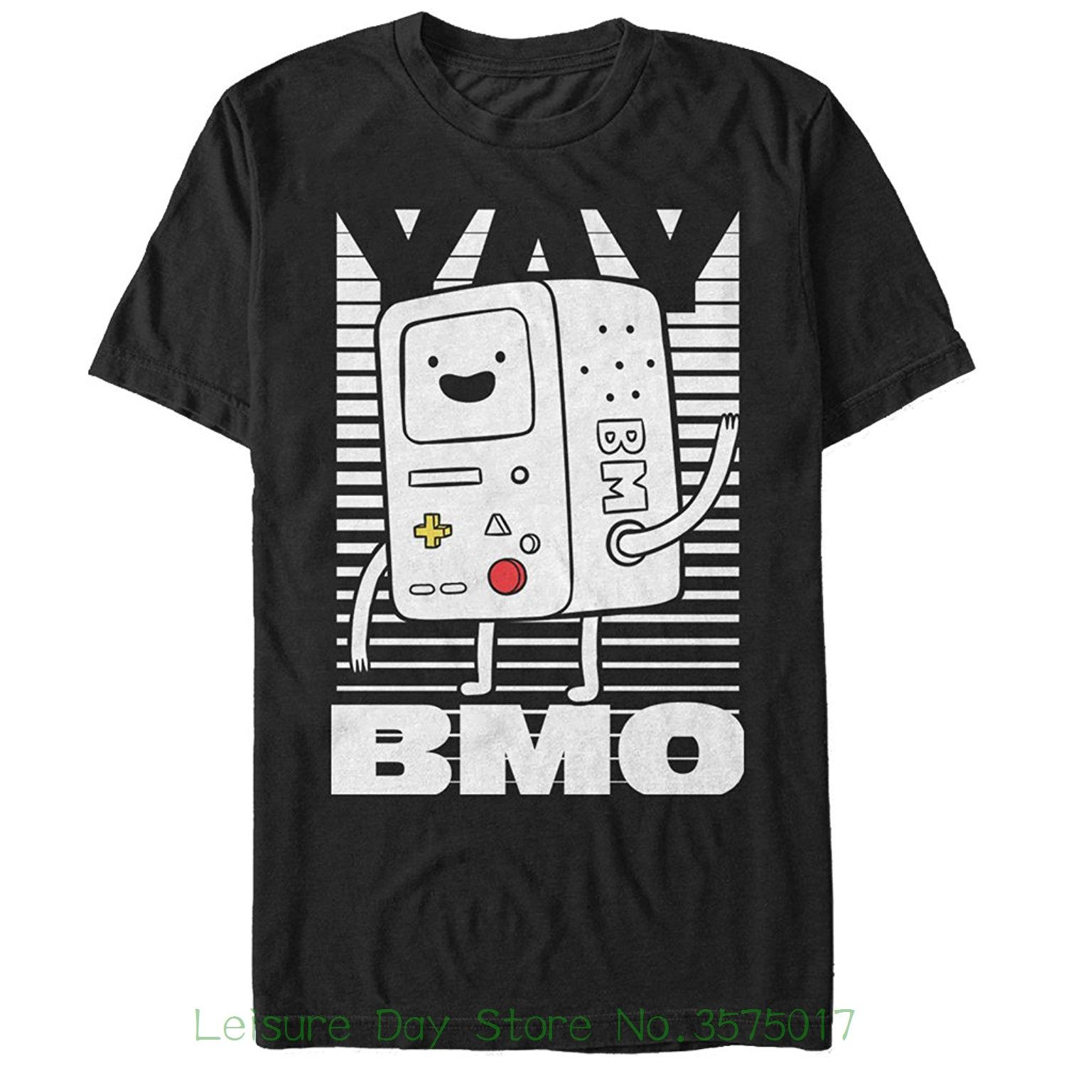 17d99815b55 T-shirts 2018 Brand Clothes Slim Fit Printing Fifth Sun Adventure Time Yay  Bmo Mens