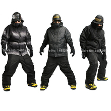 "New Premium Edition ""Southplay"" Winter Waterproof Warming Suit (Military Jacket + Black Pants)Sets"