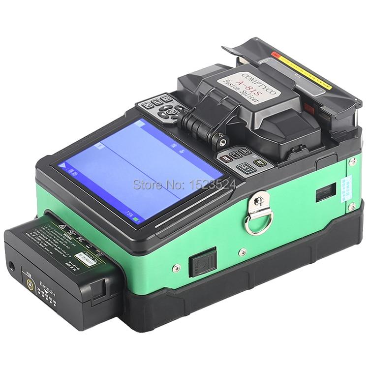 A 81S Green Automatic Fusion Splicer Machine Fiber Optic Fusion Splicer Fiber Optic Splicing Machine