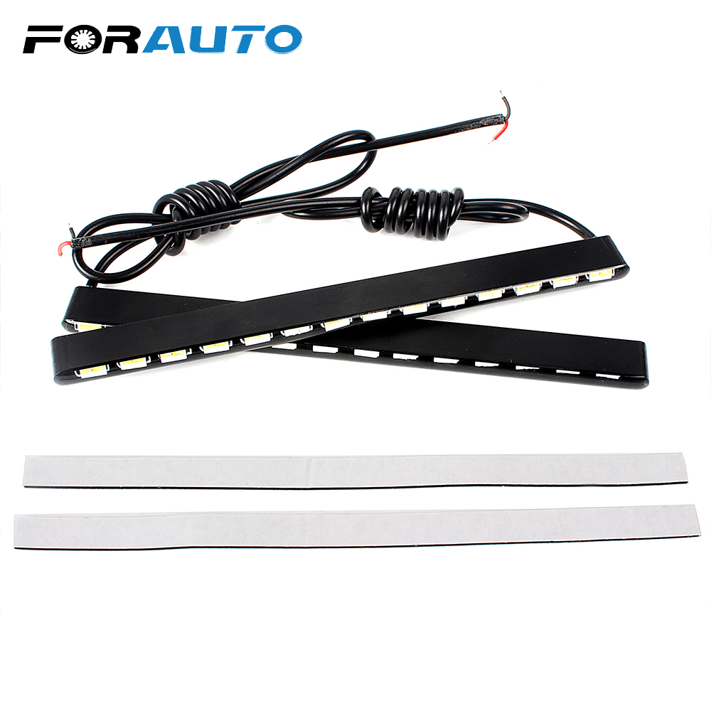 2pcs Dimmable Under Cabinet Strip Lighting7020 7030 9w 50cm Touch Switch Control Kitchen Led Light B Dc12v Rigid Strip Light Forauto 2pcs 14 Leds Car Styling Led Strip Waterproof Super Bright Smd Aluminum Housing Daylight 7030 Drl Daytime Running Light