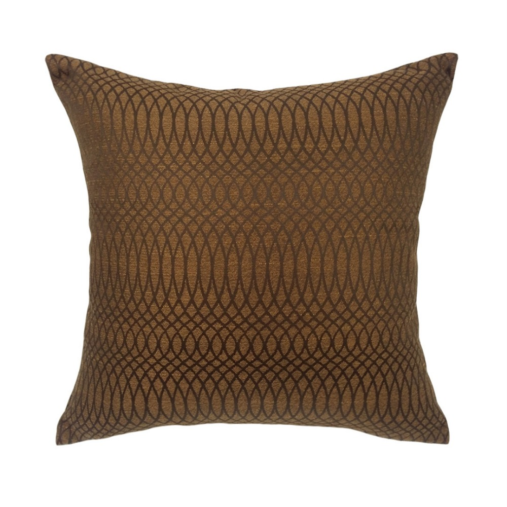 popular indoor outdoor pillowsbuy cheap indoor outdoor pillows  - contemporary cognac water stain proof indoor outdoor jacquard wovengeometric chair cushion cover solid pillow case