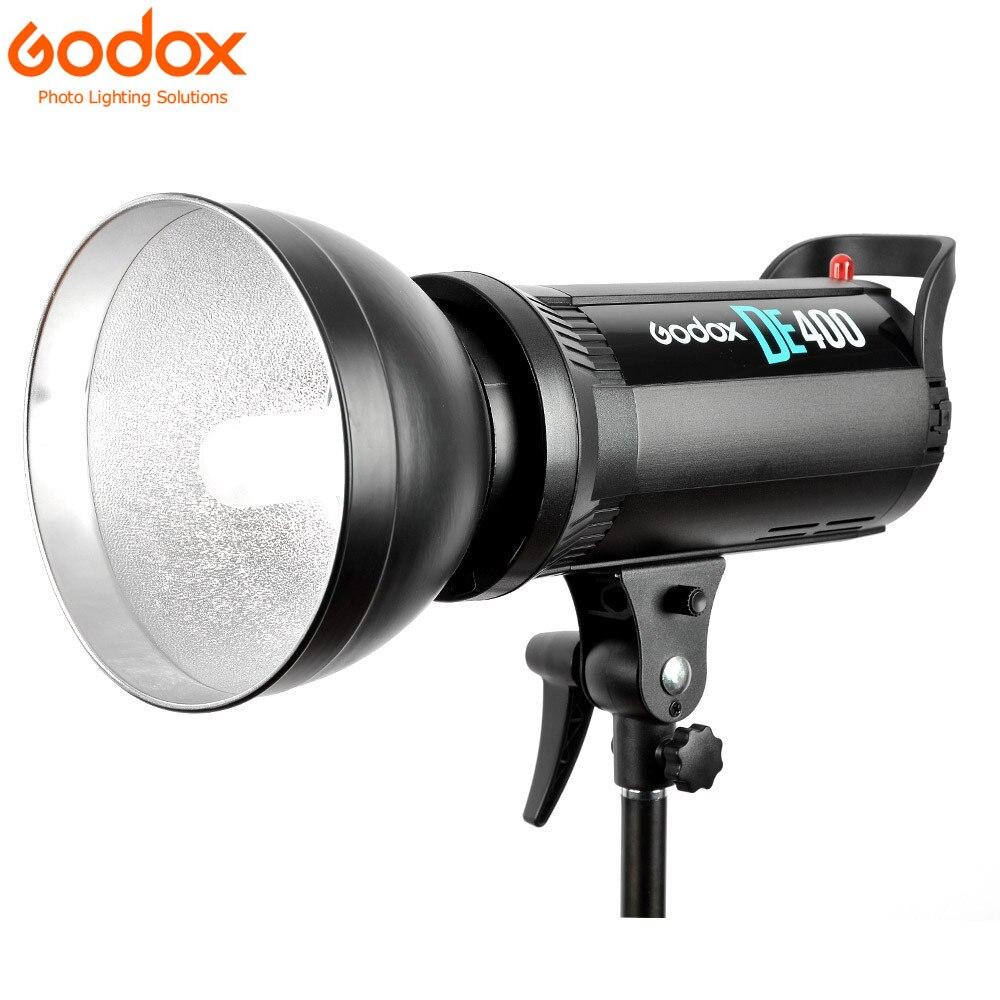 Godox DE400 400 w Pro Studio de Photographie Stroboscopique Flash Light Lamp Head DE Série 220 v pour le mariage/publicité /mode tir