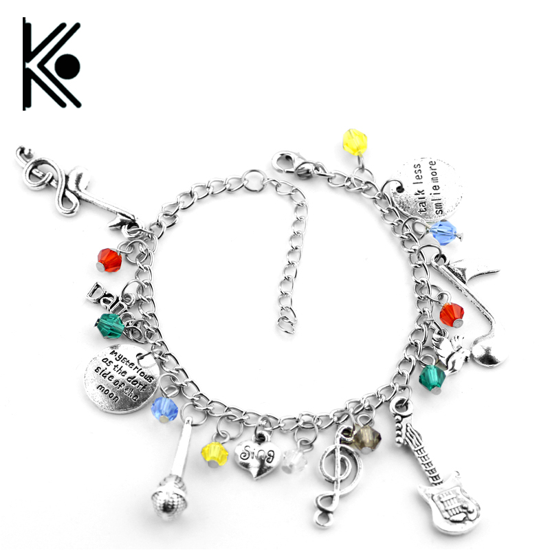 Free shipping Fashion jewelry Womens gift 13 Thirteen Reasons Why jewelry bracelet ...