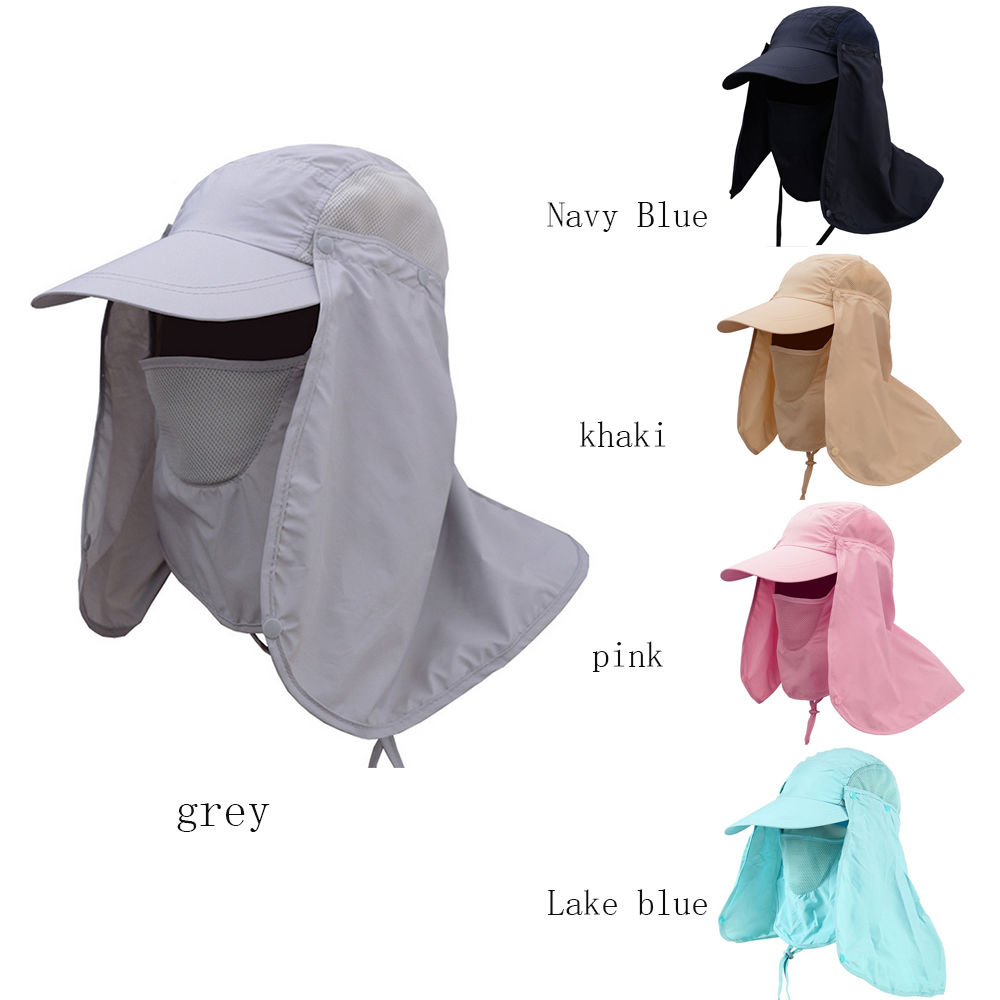 Outdoor Hiking Fishing Hat Sport Sun Protection Neck Face Flap Cap Wide  Brim Hot-in Sun Hats from Apparel Accessories on Aliexpress.com  b65991d6e896