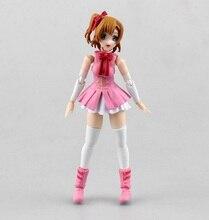 Cartoon Anime Love Live! Kousaka Honoka PVC Doll Action Figure Toys 5″13cm Free Shipping