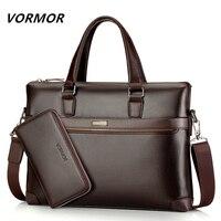 Famous Brand Fashion Casual Leather Men S 2 Set Bag Shoulder Bag Messenger Bags Business Handbag