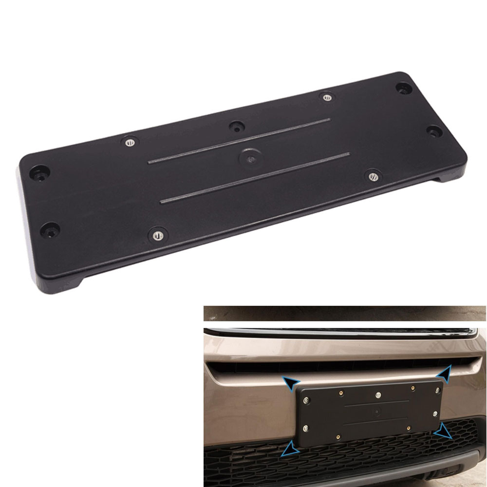Exterior Car Front License Plate Tag Frame Panel For 2015 Land Rover Discovery Sport Auto Car Styling Auto Accessories