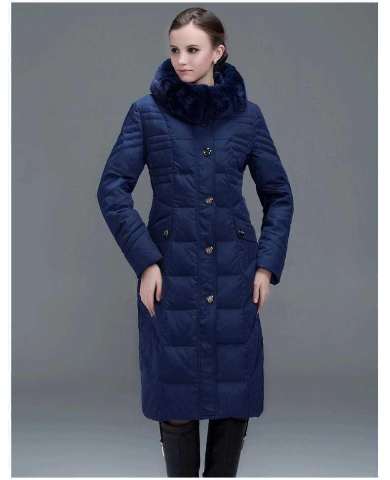 2015 Winter Women Long Down Jacket Fashion Coat Duck Down Free Shipping Hooded Pocket Natural Fox Fur Collar Parkas H4663