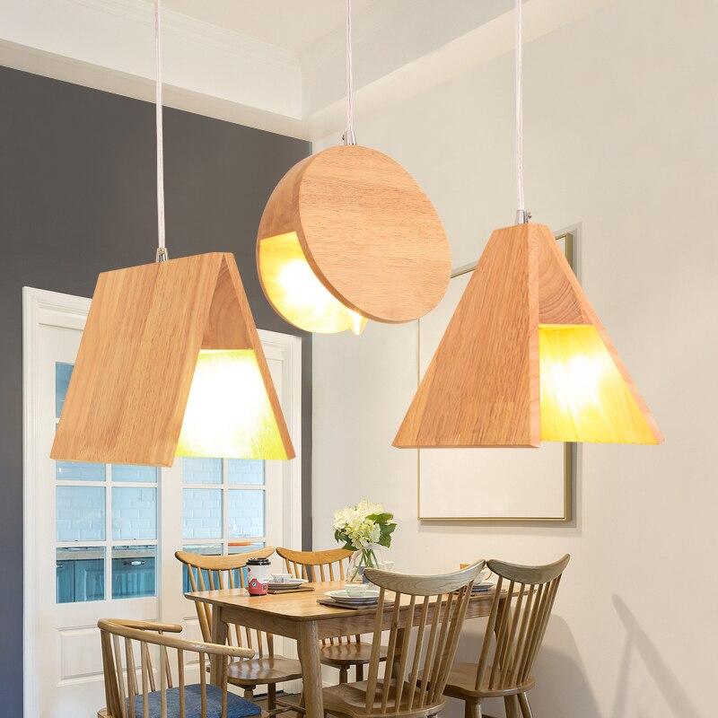creativa luces pendientes comedor bar sola cabeza caf casa granja de registro nordic lmpara colgante lu