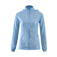 UV Protection Sunscreen Skin Clothing Women Sun Protective Hooded Zip Jackets Light Thin Quick Dry Windbreaker