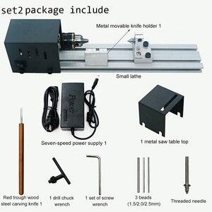24V 100W CNC Mini Lathe Machin