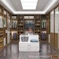 2016 Новый Дизайн Oppein Роскошная Вилла Древесины Гардероб Дизайн YG16-M08