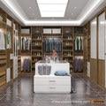 2016 Nuevo Diseño Oppein Villa De Lujo Grano De Madera Diseño YG16-M08 Walk-in Closet